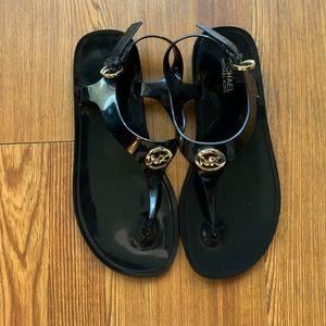 Michael Kors Sandals. Black size 6.